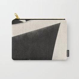 NOIR ABSTRACT / Concrete Carry-All Pouch
