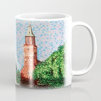 finland Mugs featuring Turku Cathedral, Finland by Alan Hogan