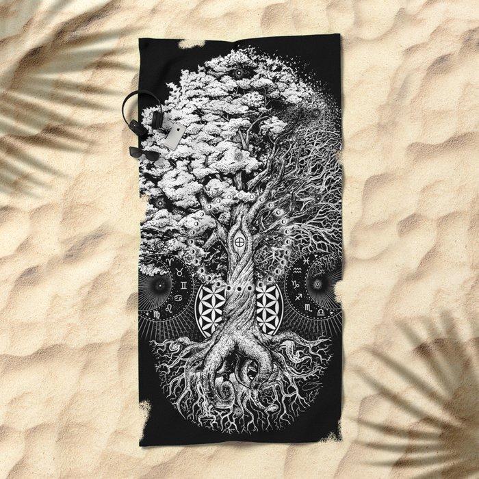 The Tree of Life Beach Towel