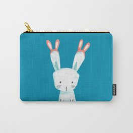 Four Eared Bunny Carry-All Pouch