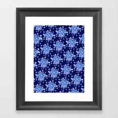 Zero Gravity Crystals Framed Art Print