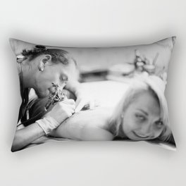Hint of Pain Rectangular Pillow