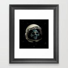 Holy Starman Skull II Framed Art Print