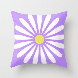 A Daisy Throw Pillow