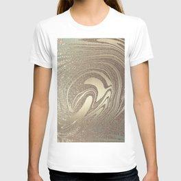 Mermaid Gold Wave 2 T-shirt