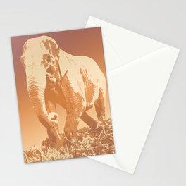 EVENING ELEPHANT Stationery Cards