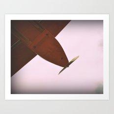 Aviones olvidados Art Print
