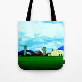 All At Once We Had It In For The Sky Tote Bag