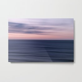 An Ocean Abstract Metal Print
