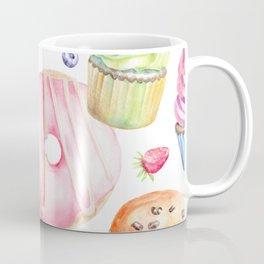 Sweets Pattern Coffee Mug