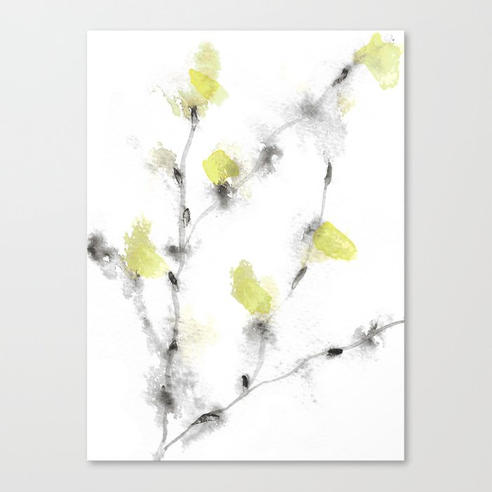 Buds 7 Canvas Print