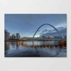 Millenium Bridge Newcastle Canvas Print