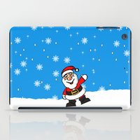 santa iPad Cases featuring Santa by David Casciani