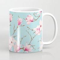 magnolia Mugs featuring Magnolia by EclipseLio