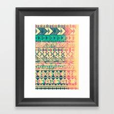 Pattern of the God Framed Art Print