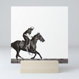 The Training Track Mini Art Print