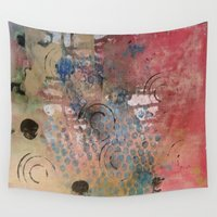 kitchen Wall Tapestries featuring Kitchen Tools  by drskippyart