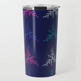 Blue Corals original Art Travel Mug