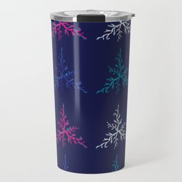 Blue Corals original Art Travel Mug