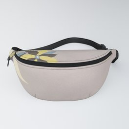 Lavender Border Flowers Fanny Pack