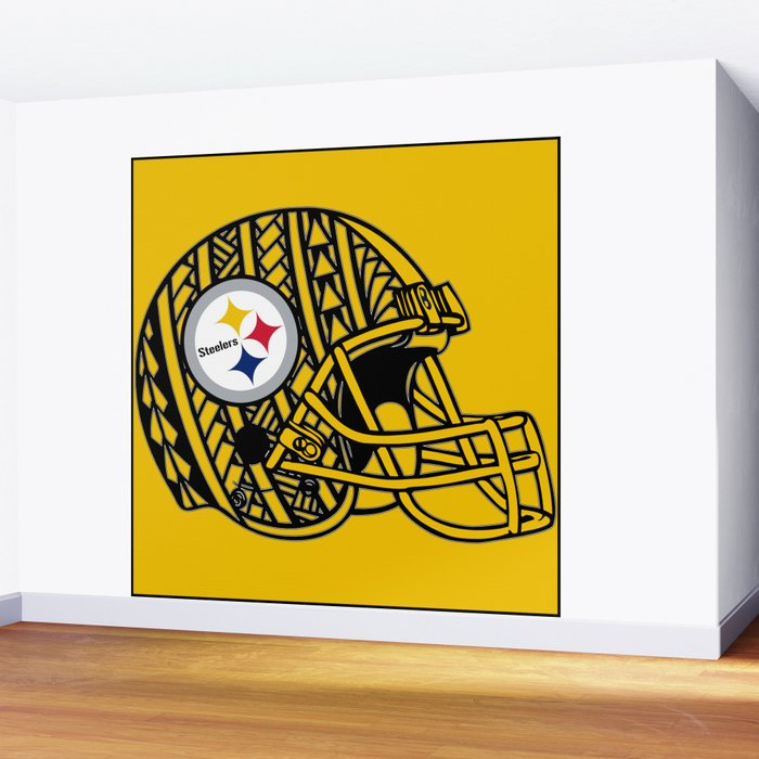 Polynesian style Steelers Wall Mural by ...