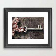 Post Card Framed Art Print
