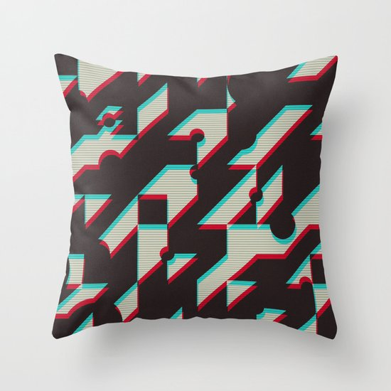 Throw Pillow Trends 2015 : Trend Me Up Throw Pillow by Conundrum Arts Society6