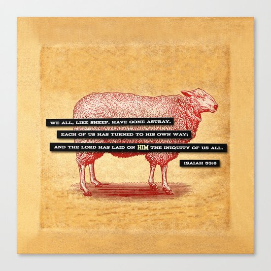 Like Sheep Canvas Print