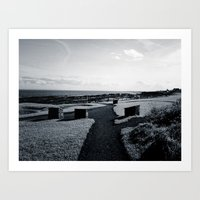 The Coastal Path Art Print