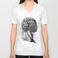 apollo V-neck T-shirts featuring Apollo by DIVIDUS