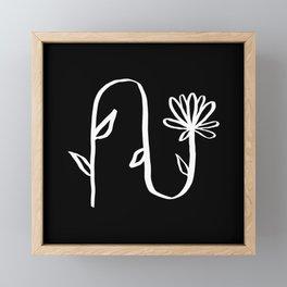 Stay Flexible Framed Mini Art Print