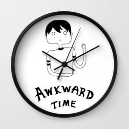 Awkward Time Wall Clock