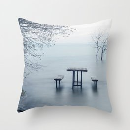 West Point, Sandbanks Throw Pillow