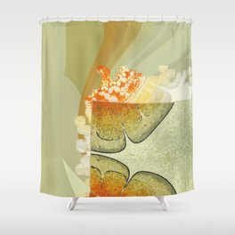 Minimaxes Character Flowers  ID:16165-104309-11261 Shower Curtain