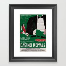 CASINO ROYALE Framed Art Print