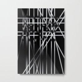 Light in Dark Metal Print