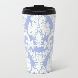 wedgewood blue damask Travel Mug