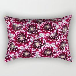 Red Camellias Rectangular Pillow
