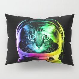 Astronaut Cat Pillow Sham