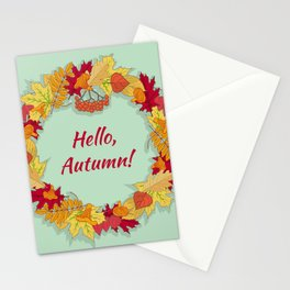 Hello, Autumn! Stationery Cards