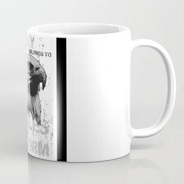 Eagle Lover Gift Idea Design Motif Coffee Mug