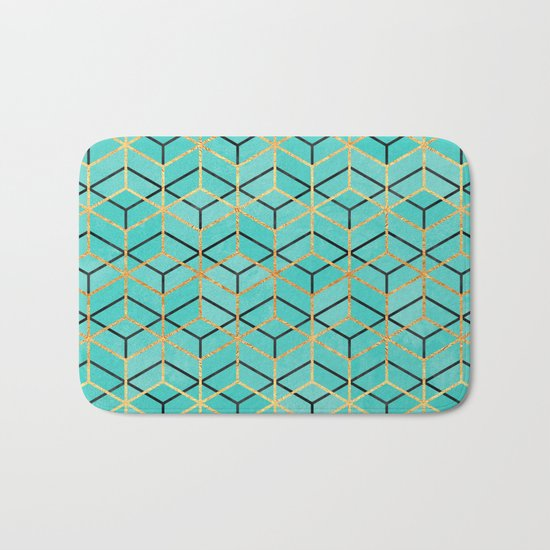 Pretty Geometry 2 Bath Mat