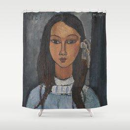 Alice by Amedeo Modigliani Shower Curtain