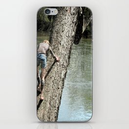 The climb revisited iPhone Skin