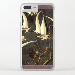 Franz Sedlacek Blooms And Insects I Clear iPhone Case