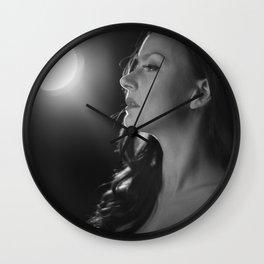 Silver Swan Wall Clock