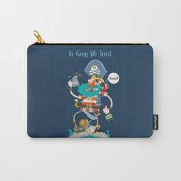 In Grog We Trust Carry-All Pouch