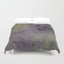 Darkened Sky - Textured, abstract painting Duvet Cover