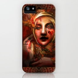 """The Blood Maja"" iPhone Case"