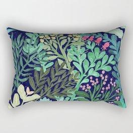 Botanical Glow Rectangular Pillow